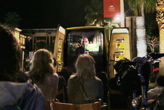Cannes in a Van screens The Age of Stupid
