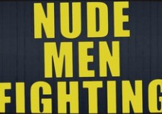 Nude Men Fighting