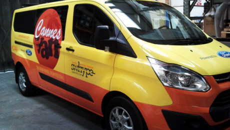 A sneak peek at the 2013 Cannes Van, courtesy of Ford