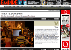 The A – Z of Cannes (Empire Online 2011)