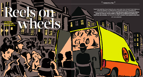 'Reels on Wheels' – Metropolitan Magazine Feature